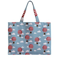 Hot Air Balloon Zipper Tiny Tote Bags