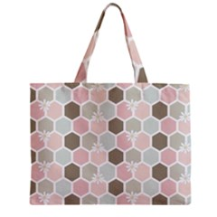 Spring Bee Zipper Tiny Tote Bags