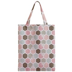 Spring Bee Zipper Classic Tote Bags