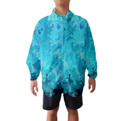 Splashes Of Color, Aqua Wind Breaker (Kids)