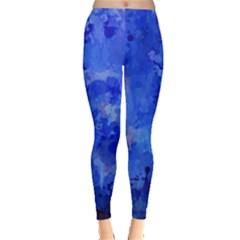Splashes Of Color, Blue Women s Leggings