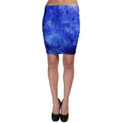 Splashes Of Color, Blue Bodycon Skirts