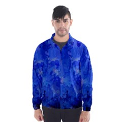 Splashes Of Color, Blue Wind Breaker (men)