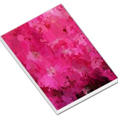 Splashes Of Color, Hot Pink Large Memo Pads