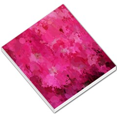 Splashes Of Color, Hot Pink Small Memo Pads