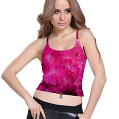 Splashes Of Color, Hot Pink Spaghetti Strap Bra Tops