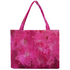 Splashes Of Color, Hot Pink Tiny Tote Bags