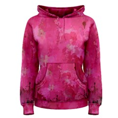 Splashes Of Color, Hot Pink Women s Pullover Hoodies