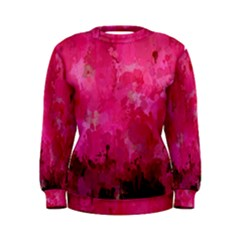 Splashes Of Color, Hot Pink Women s Sweatshirts