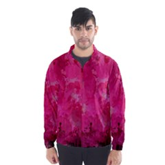 Splashes Of Color, Hot Pink Wind Breaker (Men)