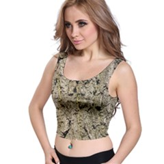 GREY TREE BARK Crop Top