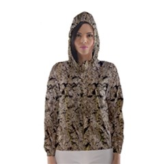 GREY TREE BARK Hooded Wind Breaker (Women)