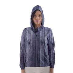 GREY FENCE Hooded Wind Breaker (Women)