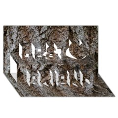 Douglas Fir Bark Best Friends 3d Greeting Card (8x4)
