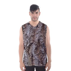 DOUGLAS FIR BARK Men s Basketball Tank Top