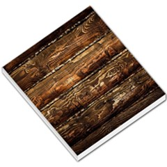 Dark Stained Wood Wall Small Memo Pads