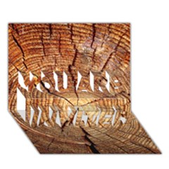 Cross Section Of An Old Tree You Are Invited 3d Greeting Card (7x5)