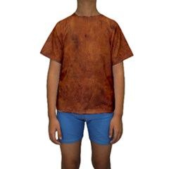 BURL OAK Kid s Short Sleeve Swimwear