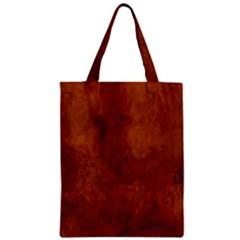 Burl Oak Zipper Classic Tote Bags