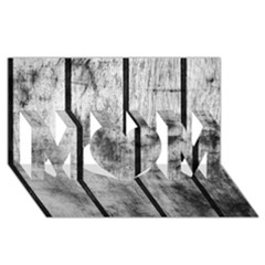 BLACK AND WHITE FENCE MOM 3D Greeting Card (8x4)