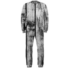 BLACK AND WHITE FENCE OnePiece Jumpsuit (Men)