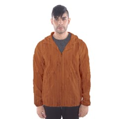 BAMBOO DARK Hooded Wind Breaker (Men)