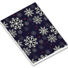 Snowflake Large Memo Pads
