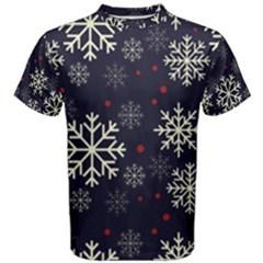 Snowflake Men s Cotton Tees