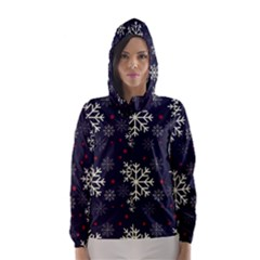 Snowflake Hooded Wind Breaker (women)