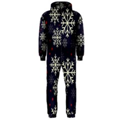 Snowflake Hooded Jumpsuit (Men)