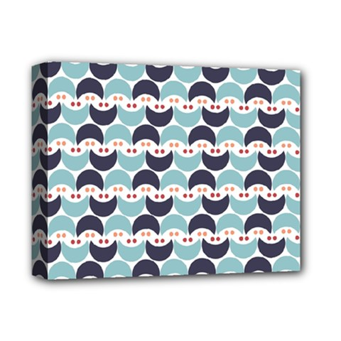Moon Pattern Deluxe Canvas 14  x 11