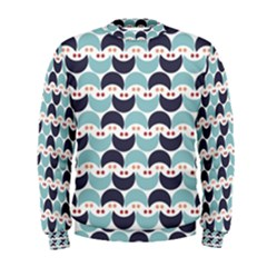 Moon Pattern Men s Sweatshirts