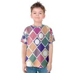 Dots and Squares Kid s Cotton Tee