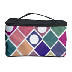 Dots and Squares Cosmetic Storage Cases