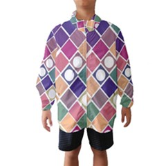 Dots and Squares Wind Breaker (Kids)