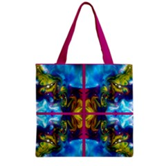 the mocking of chance by saprillika Grocery Tote Bag