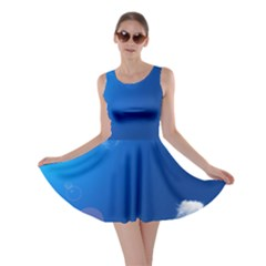 SUN SKY AND CLOUDS Skater Dresses