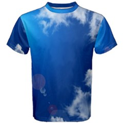 SUN SKY AND CLOUDS Men s Cotton Tees