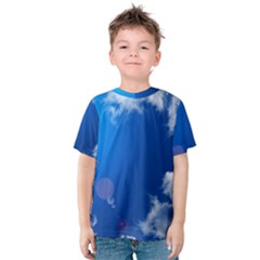 Sun Sky And Clouds Kid s Cotton Tee