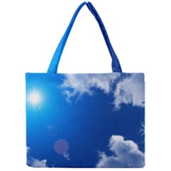 SUN SKY AND CLOUDS Tiny Tote Bags