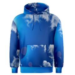 SUN SKY AND CLOUDS Men s Pullover Hoodies