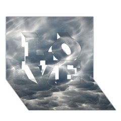 STORM CLOUDS 2 LOVE 3D Greeting Card (7x5)