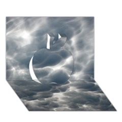 Storm Clouds 2 Apple 3d Greeting Card (7x5)