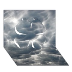 STORM CLOUDS 2 Clover 3D Greeting Card (7x5)