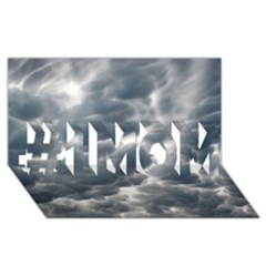 STORM CLOUDS 2 #1 MOM 3D Greeting Cards (8x4)