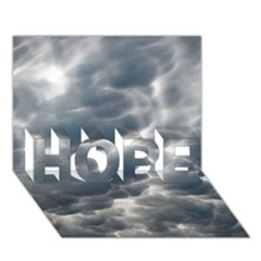 STORM CLOUDS 2 HOPE 3D Greeting Card (7x5)