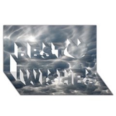 STORM CLOUDS 2 Best Wish 3D Greeting Card (8x4)
