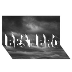 Storm Clouds 1 Best Bro 3d Greeting Card (8x4)