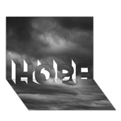 Storm Clouds 1 Hope 3d Greeting Card (7x5)