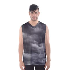Storm Clouds 1 Men s Basketball Tank Top